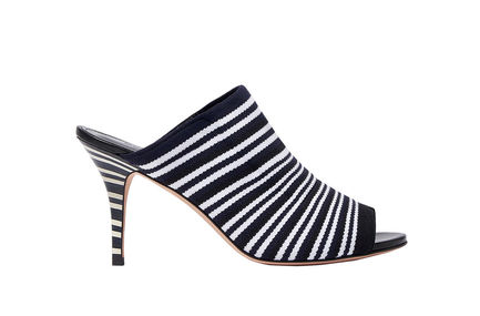 Striped Mule Stilettos Sportmax