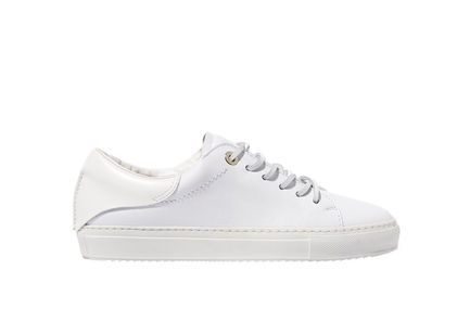 White Leather Sneakers Sportmax
