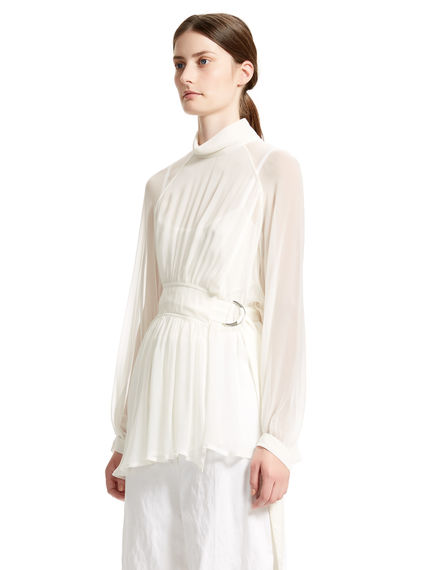 Belted Silk Tunic