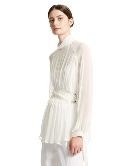 Belted Silk Tunic Sportmax