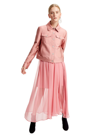 Multi-layered Silk Dress