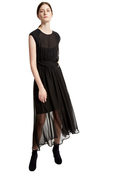 Multi-layered Silk Dress Sportmax
