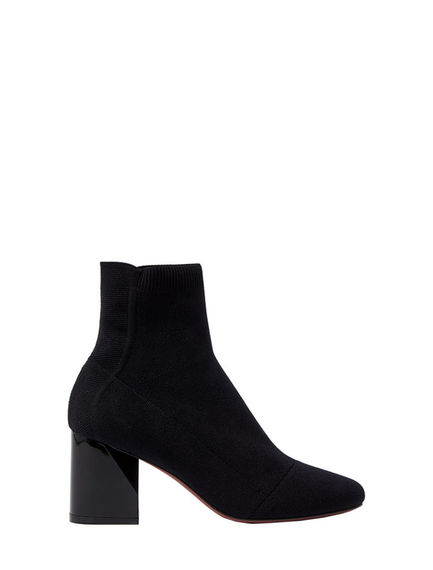 Facetted Heel Sock Boots Sportmax