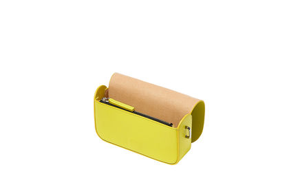 Yellow Crossbody Mini Bag