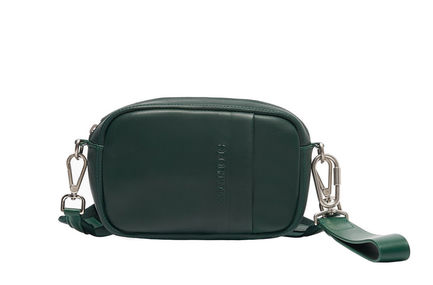 Convertible Leather Bag Sportmax