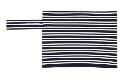 Graphic Striped Knit Clutch Sportmax