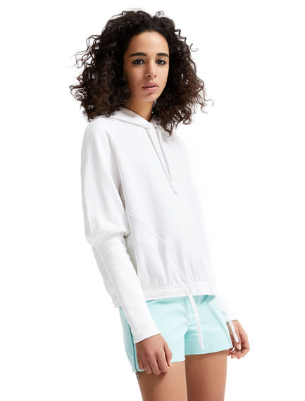 Elongated Cuff Hooded Sweatshirt Sportmax