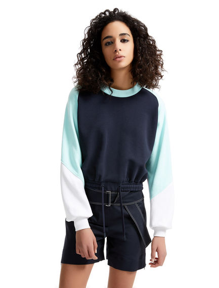 Colour block Cotton Sweatshirt Sportmax