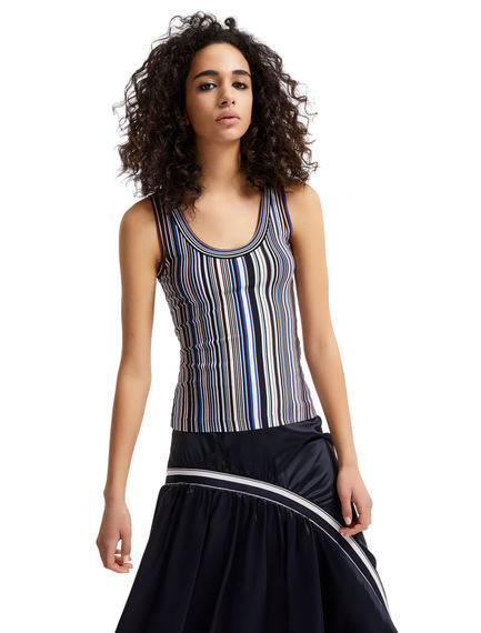 Striped Jersey Vest Sportmax