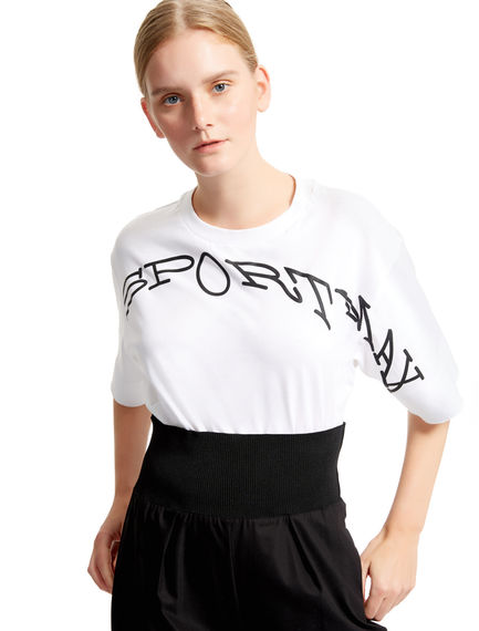 Distorted Logo T-shirt Sportmax