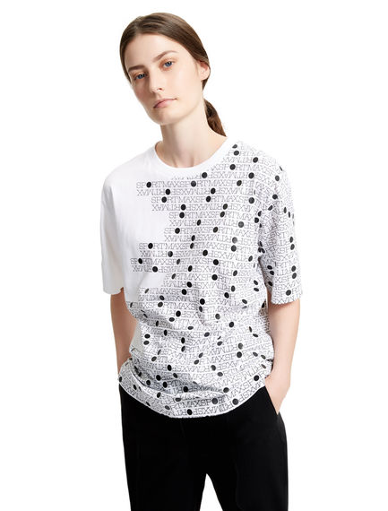 Graphic Logo T-shirt Sportmax