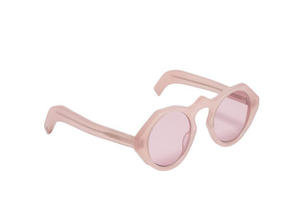 Geometric Acetate Sunglasses