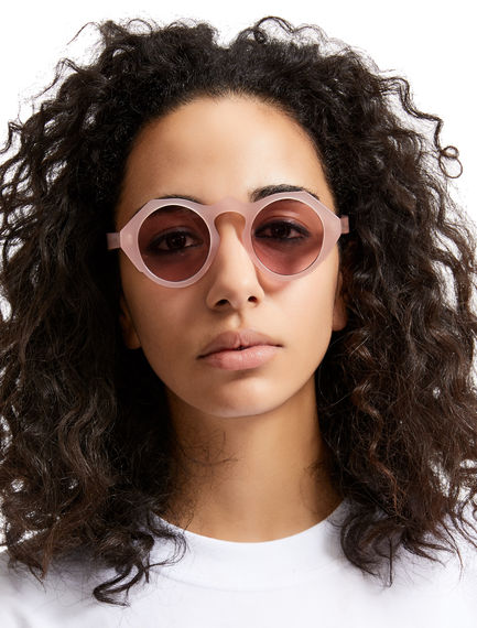 Geometric Acetate Sunglasses Sportmax