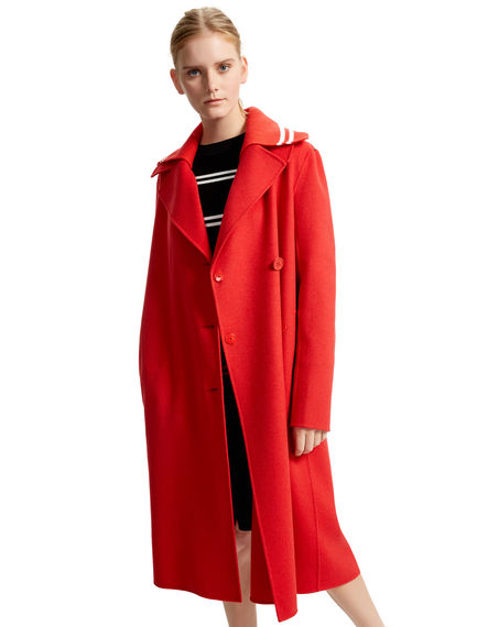 Sporty Double Wool Trench Sportmax