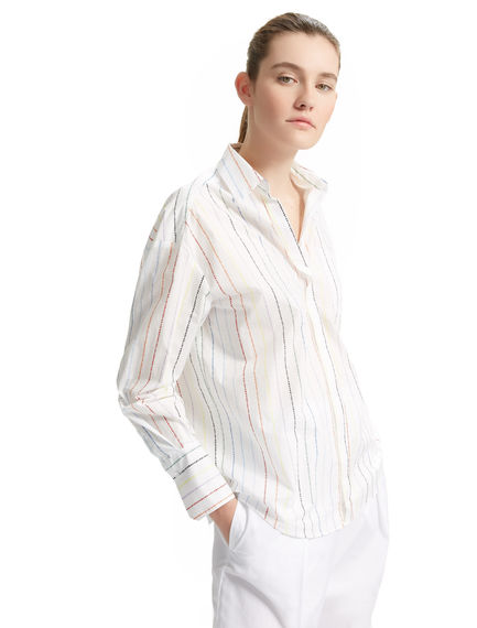 Never Too Late Poplin Shirt