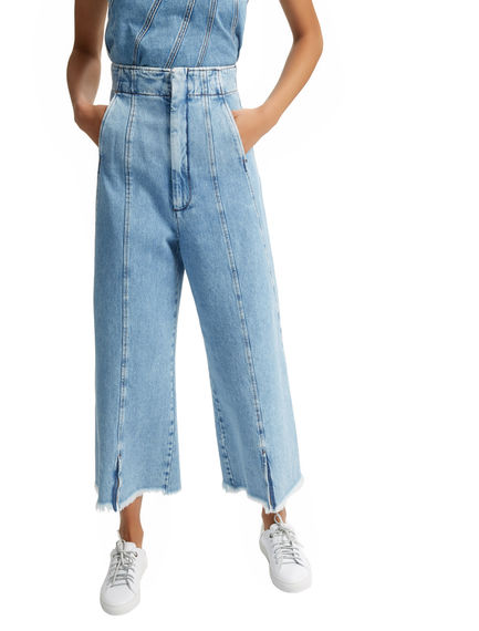 Split-front High-waisted Jeans Sportmax
