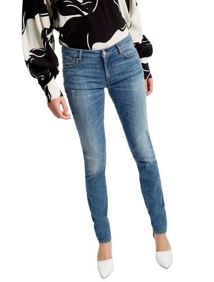 Vintage Denim Skinny Jeans Sportmax