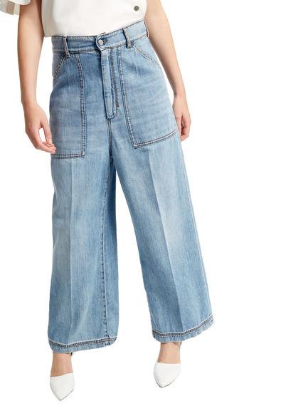 Wide Leg Workwear Jeans Sportmax