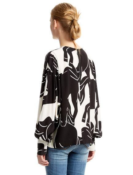 Running Horses Blouse