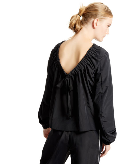Black Drop-back Blouse Sportmax