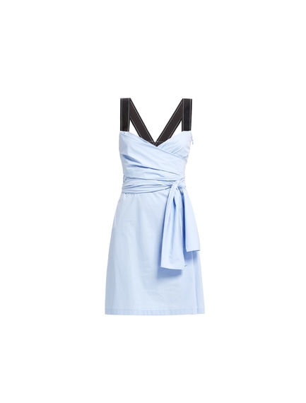 Knot Waist Mini Dress