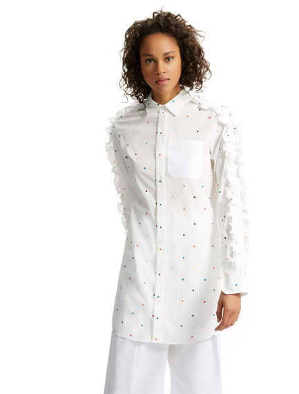 Polka Dot Shirt Dress Sportmax