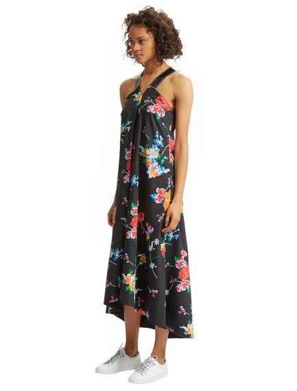 Graphic Flower Dress
