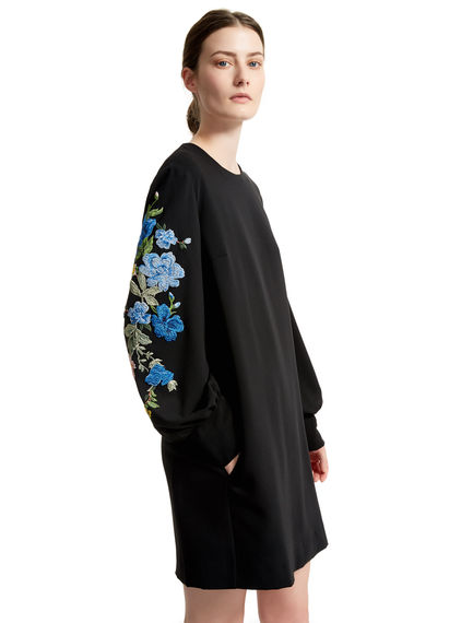 Embroidered Sleeve Dress Sportmax