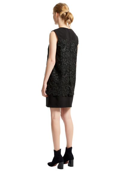Layered Lace Shift Dress