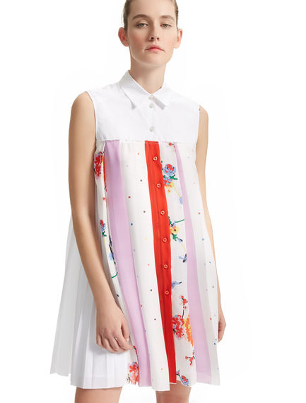 Multi Print Georgette Shirt Dress Sportmax