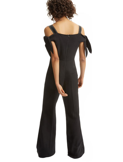 Drop-shoulder Flared Jumpsuit Sportmax