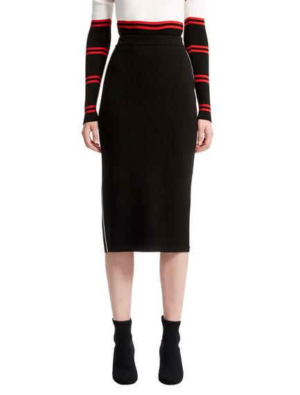 Viscose Knit Pencil Skirt