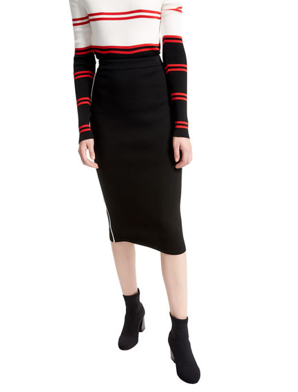 Viscose Knit Pencil Skirt Sportmax