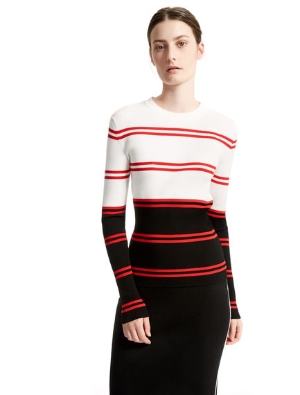 Colour Block Striped Sweater Sportmax