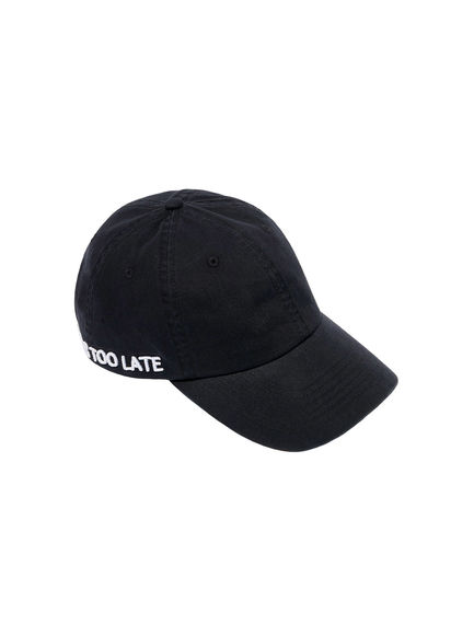 Never Too Late Baseball Cap Sportmax