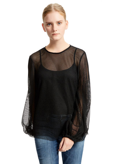 Semi-sheer Net Top Sportmax