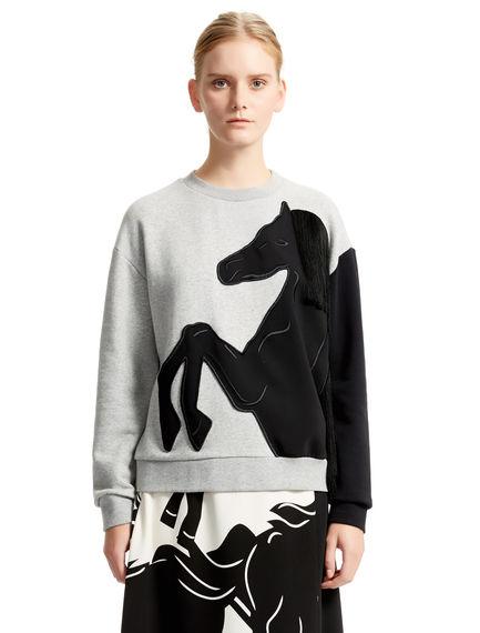 Rearing Horse Sweatshirt