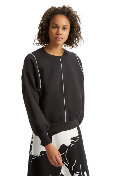 Contrast Piping Sweater Sportmax