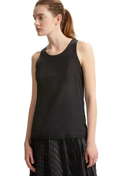 Silk & Jersey Vest Sportmax
