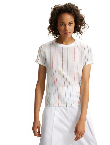 Never Too Late Silk T-shirt Sportmax