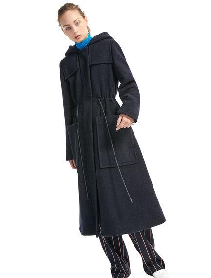 Cashmere & Wool Parka Coat Sportmax