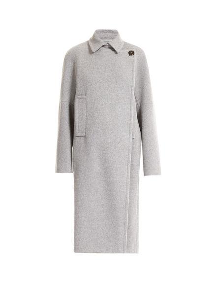 Cashmere Cocoon Coat