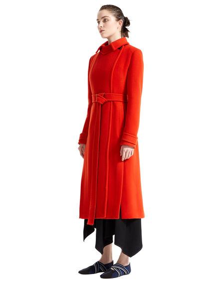 Slimline Wool Trench Coat