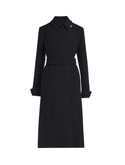 Slimline Wool Trench Coat