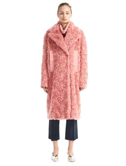 Mohair & Cotton Furry Coat