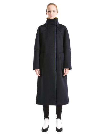 Two-tone Cashmere Coat