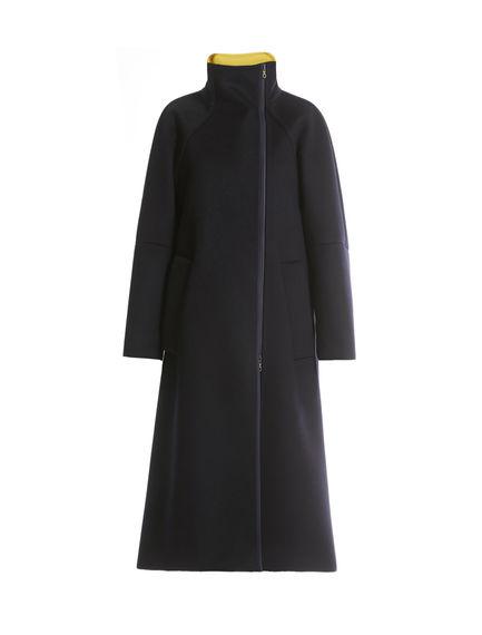 Two-tone Cashmere Coat