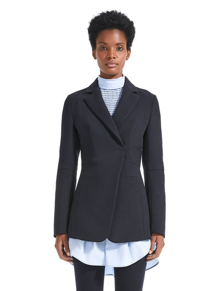 Geometrically Tailored Wool Jacket