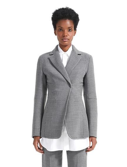 Geometrically Tailored Wool Jacket