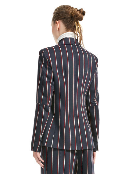 Tailored Pinstripe Jacket